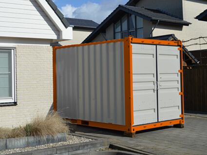 10 ft opslagcontainer